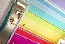 Children - RAINBOW BEDROOM / I so want to do a rainbow bedroom for my poppet!!