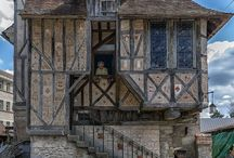 Medieval houses / Medieval houses, decor, Design.