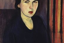 arte - Sarah Afonso (1899-1983) / arte - pittrice portoghese