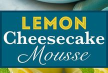 Cheesecake Mousse + Mousse