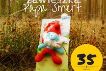 Smerfy / produkty szwedzkiej firmy Ratt Start z motywem Smerfów do kupienia w sklepie cohannah.com