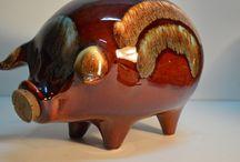 hull pottery / by Vickie Birchfield Mauck