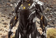 Futuristic Armor/Helmets