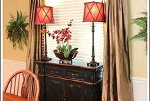 Window treatments / by Angel Sewell