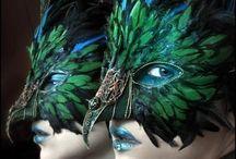 masks carnival costumes