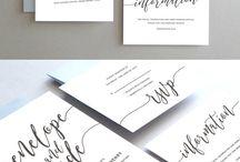 bryllups invitasjoner inspirasjon