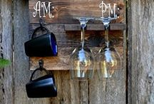 Coffee Cup & Wine Glass Rack