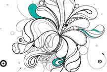 FLOW - amazing drawings & zenurdel / zenurdel style illustrations made by Réka Darvas
