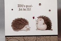 Hedgehogs Stampin Up