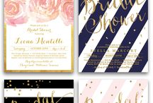 Wedding invitations / door Trouwen bij Fletcher