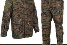 Katonai ruházatok, terepminták