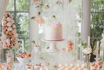 Pink, Gold and Glitter Baby Shower
