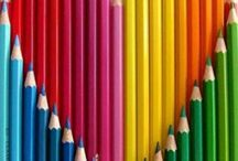 Colouring Pencils and pens / All things pencil