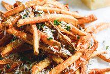 Fries & Onion Rings / by Aimee Aken