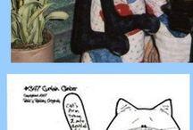 커텐고양이