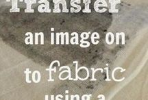 Transfer to fabric