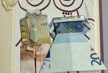 Origami con soldi