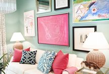 Colorful interiors