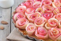 """Tarte """"bouquet de roses"""" aux pommes"""