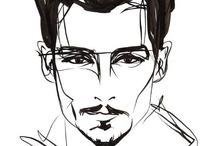 Johnny Depp Art