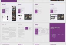 Projekt rapport indesign