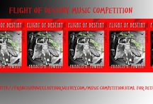 music competition / This a music competition, which involves writing music, inspired by Flight of Destiny.