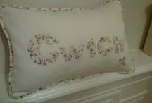 Very pretty floral Cwtch cushion!