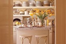 Home :: Organized Spaces / different examples of well organized and styled spaces, including pantries, bookshelves, closets, and any other space in a home
