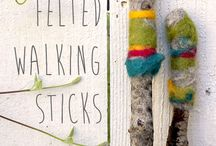 walking sticks and summer fun / by Monika Cutchens