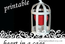 You've Captured my Heart / Valentines Party, Caged heart, Heart party, Heart party ideas, Heart party decorations, Valentines day decorations, Valentines brunch