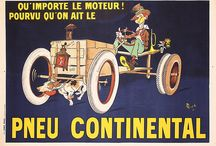 Automobile & Bicycle Posters