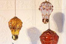 Лампочки декор