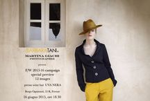 Barbara Tani - 12 images / Barbara Tani  - Martina Giachi  special preview F/W collection 15.16 at Uva Nera Wine Bar Florence