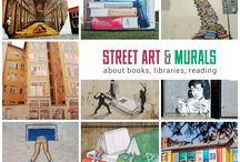 literarisches streetart