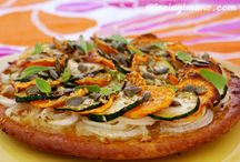 ♥ Vegan pizza :D