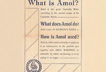 Historyczne reklamy leku Amol