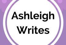 Ashleigh Writes / Pins from my blog: ashleighwrites.co.uk