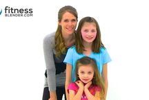 exercise at home with kids / by Melissa Davis