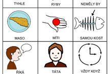 školka básničky písnčky s piktogramy