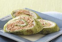 Holiday Appetizers / There's endless possibilities to entertain with tortillas!