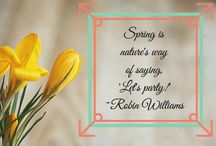 Spring / All Spring!