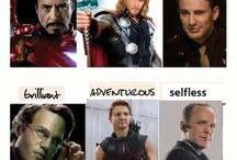Marvel / Everything I love about Marvel!  Avengers - Spider Man - Deadpool - X-Men