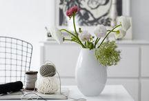 ´ flowers & vases / beautiful flower arrangements, elegant vases and artful bowls
