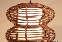 Rattan artificial lamp | Droplight / by ShenTop China
