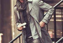 Romantic style. Mens fashion