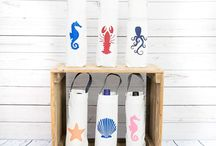 Upcycled Sailcloth Bottle Bags