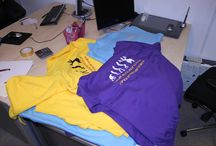 Embroidery and Garment Printing / We provide embroidery and printing solutions for clothing, ideal for uniforms, promotional wear and a bit of fun!