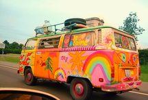 Hippie van inspiration