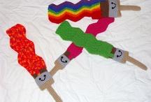 crochet inspiration no patterns here / by Lisa Tomblin