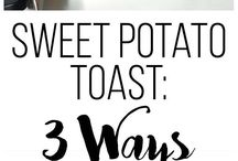 sweet potato toastGluten free